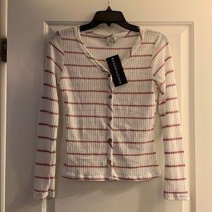 Paper crane lightweight sweater